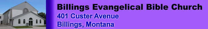 The web page banner with a